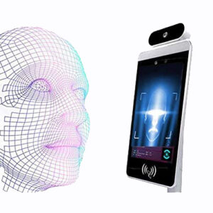 Infrared HD Camera Facial Recognition Camera 8 Inch Infrared Thermal Imager Camera Non-contact Human Body Temperature Detect Access Control