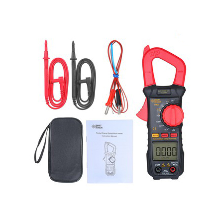 SMART SENSOR Digital Clamp Meter High Precision ST821 ST822 ST823 Manual Range Multimeter AC Clamp Ammeter Clamp Gauge